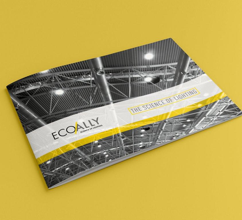Ecoally Brochure Design
