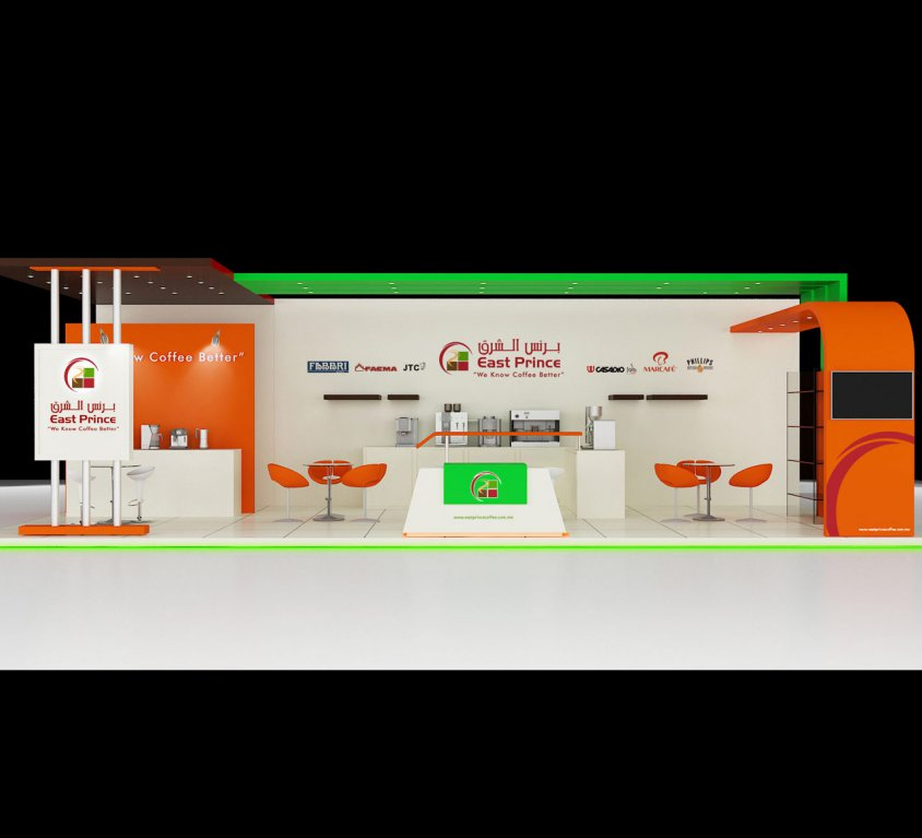 East Prince Coffee BOOTH STAND DESIGN