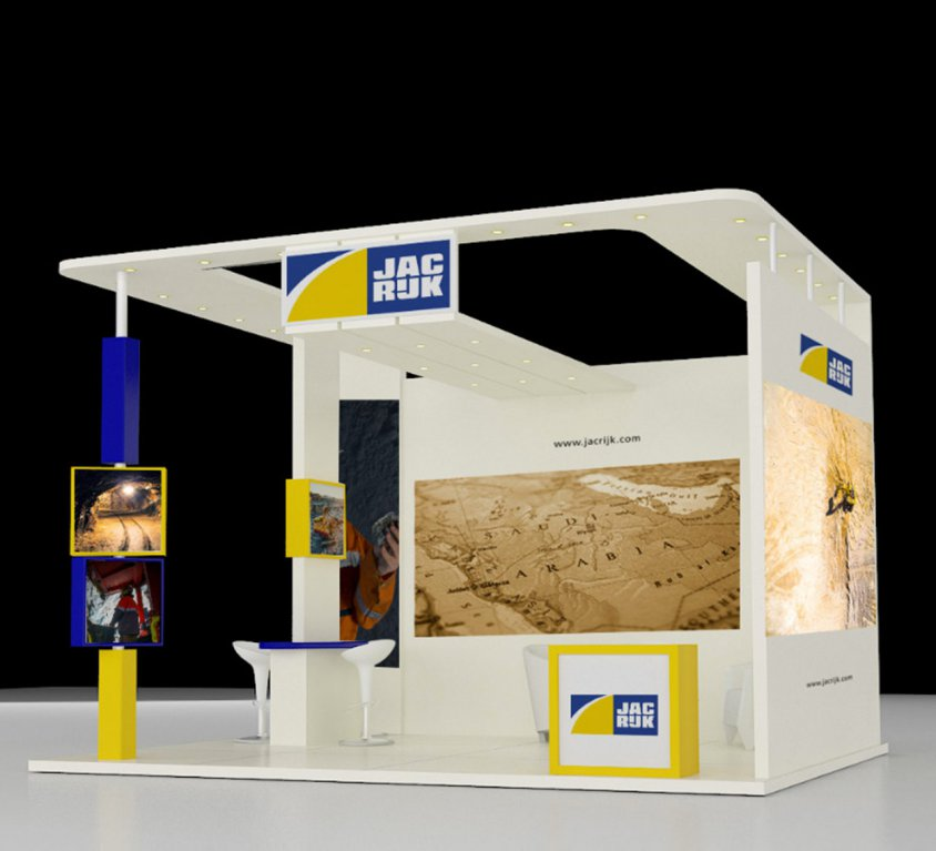 Jac Rijk Al-Rushaid Co. Ltd. BOOTH STAND DESIGN
