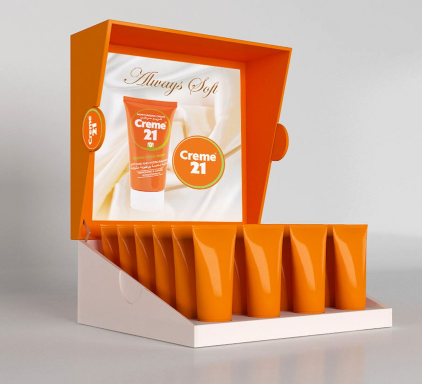 Cream 21 DISPLAY STAND
