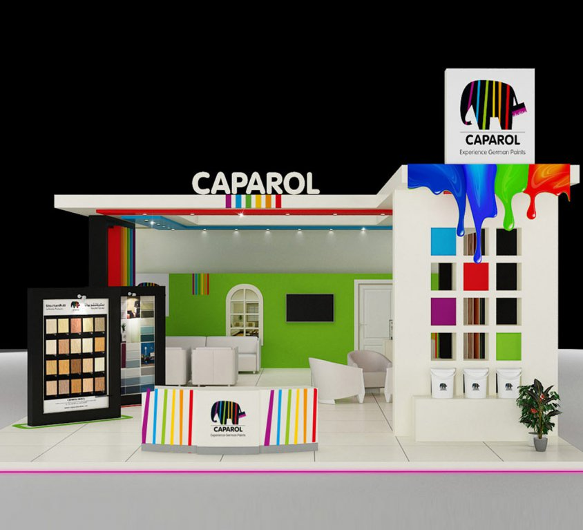 Caparol BOOTH STAND DESIGN