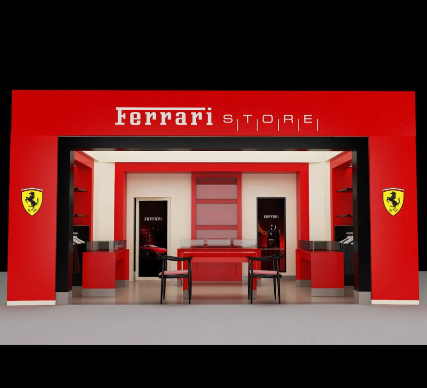 Ferrari Interior Shop Design