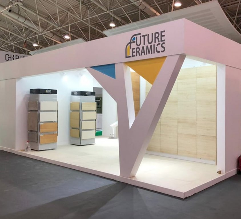 Future Ceramics Booth Stand